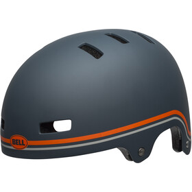 Bell Local Casque, classic matte slate/orange